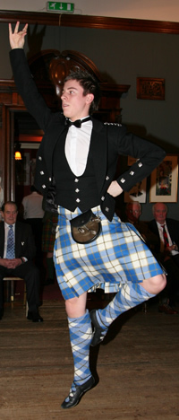Dancing at the Highland Club