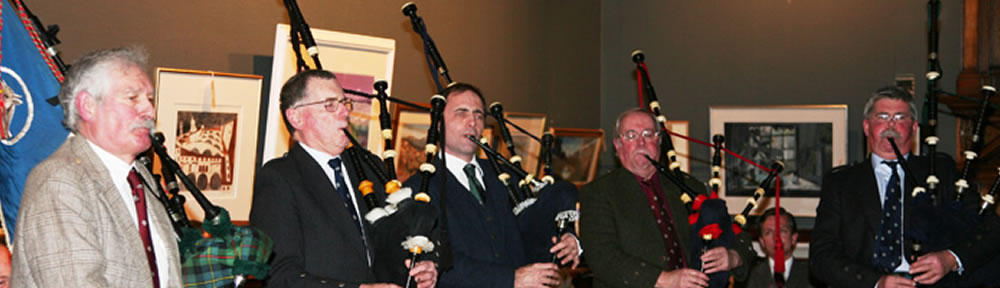 The Glasgow Highland Club Pipers